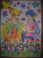 Contest Entry: Spring and Pet by holhez21