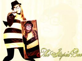 The Stupid Bee Wallpaper by ElPonyDirectionerxD