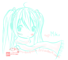 Love Miku by mcdmouse