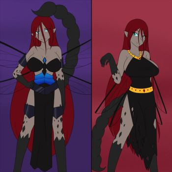 Funeral Dirge's Talith Costumes (Commission) by JonFawkes