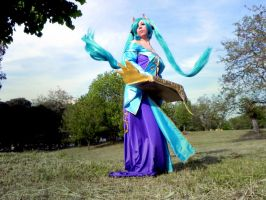 Sona {League of Legend} by CryChan87