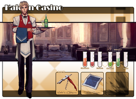 Kaiden Casino App: William 'Liam' Sterling by mintyfreshmangos