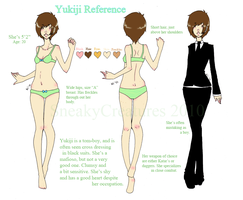 Yukiji Reference by sneakycreatures