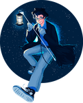 Doctor Who   Humanized male!TARDIS (lolwut?) by Lazorite