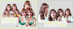 Pack PNG #108 #109: HyeRi and SoJin (Girl's Day) by jimikwon2518