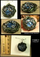 Garden Stone Pendant by CatharsisJB