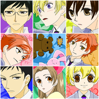 Ouran Host Club Grid by HostClub