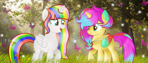 Flutterstar And Katherine |Contest entry by BloodLover2222