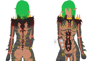 WIP n.2 Tintalle's armor redesign by lkcreate