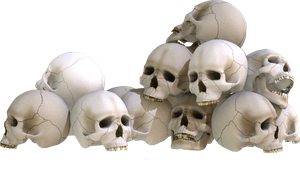 Skull Piles 2 by kungfufrogmma