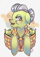 Granny Smith by RavenNoodle