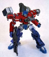 Armored Core: Optimus Prime by leangreen76