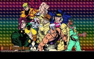 JoJo's Bizarre Adventure - Wallpaper by iFab