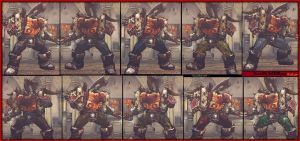 Garrosh Hellscream Zangief 10 pack by MaesterLee