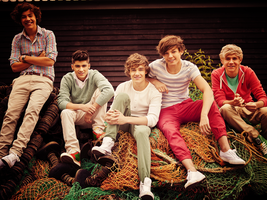one direction - wallpaper one by FashionVictim89