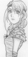 Astrid Fanart by honeysucklescent