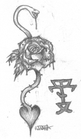 .:Rose tattoo:. by bloodyxgun