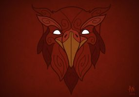 Phoenix mask by Adele-Waldrom
