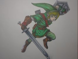 Link - Twilight Princess by MasteringAnime