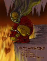 TLIID - Valentines Day card with Etrigan the Demon by Nick-Perks