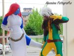 Mystique and Rogue by ScarletLilith