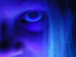 My Eye... in tired violet. by theblackrainbowSTOCK