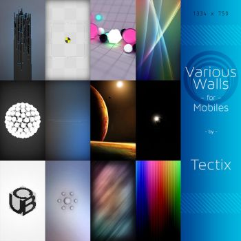 Walls for Mobiles by Tectix