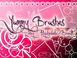 Yummy Brushes by psychedelic-breath
