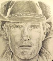 Longmire Sketch by chkennedy