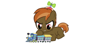 Button Train Vector (V1.0) by KyoshiTheBrony