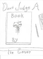Don't Judge a Book by Its Cover lineart by Cookie96
