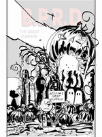 B.P.R.D.: The Great Pumpkin - SKETCH by Theamat