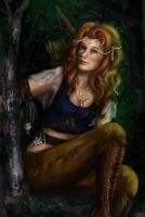 Queen of the Dryads by A-May