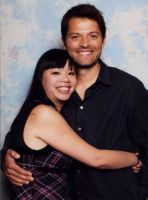 Misha Collins and I by saeko-doyle