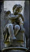 Cherub at rest 1 by MistressVampy