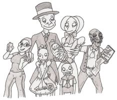 The SCP-096 Family by Serimah