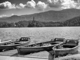 Bled Boats by batalha8