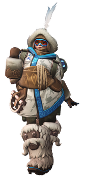 Overwatch - Mei Yeti Hunter Render by Akaniya