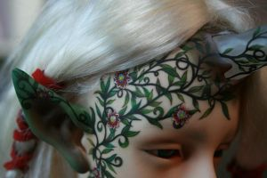 Tarion the druid passion flower face-up 4 by PinkHazard