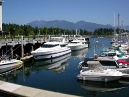 Yachthafen Vancouver by Corazon777