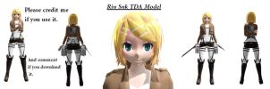 [MMD] SNK Rin Kagamine Model dl! by Emily-Liar