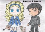 Chibi Wrath and Lauren by Momstheteacher