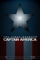 Captain America Fanmade Poster by hobo95