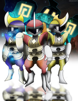 Bisharp Rangers by Dragonith