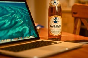 Club-Mate. by CptnAwesomier