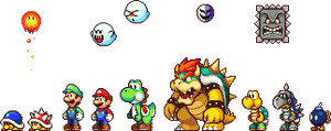 Various Mario Characters by NeoZ7