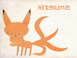 K is for Kitsune by to-much-a-thing