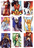Women Of Marvel - Pt V by MahmudAsrar