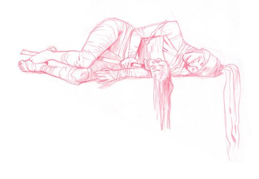 Dr Sketchy - Unwrapped f. by joslin