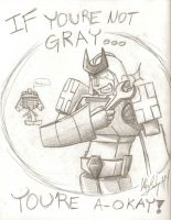 If You're Gray... by ArwingPilot114